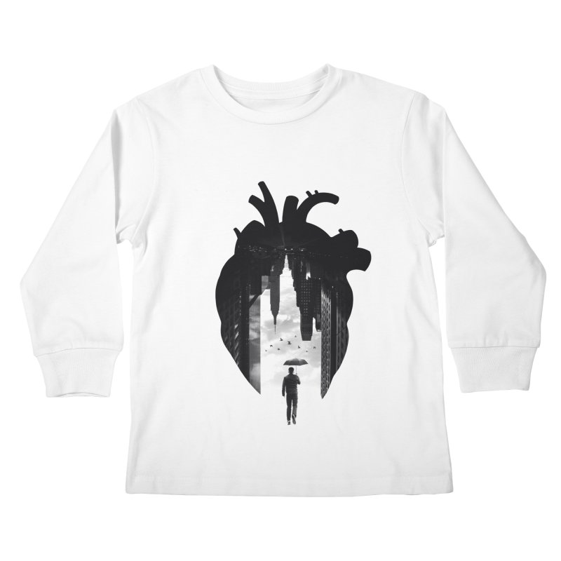 In the heart of the City Kids Longsleeve T-Shirt by Buko