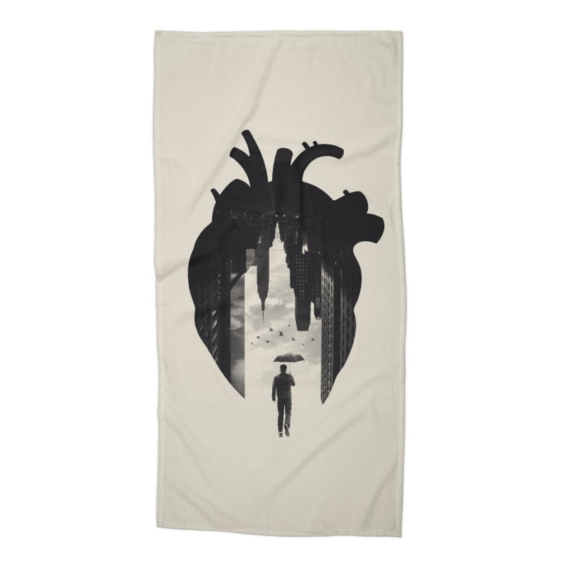 In the heart of the City Accessories Beach Towel by Buko