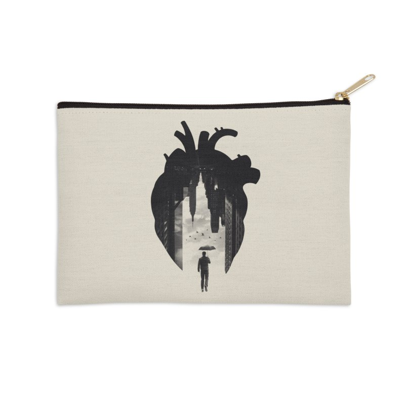 In the heart of the City Accessories Zip Pouch by Buko