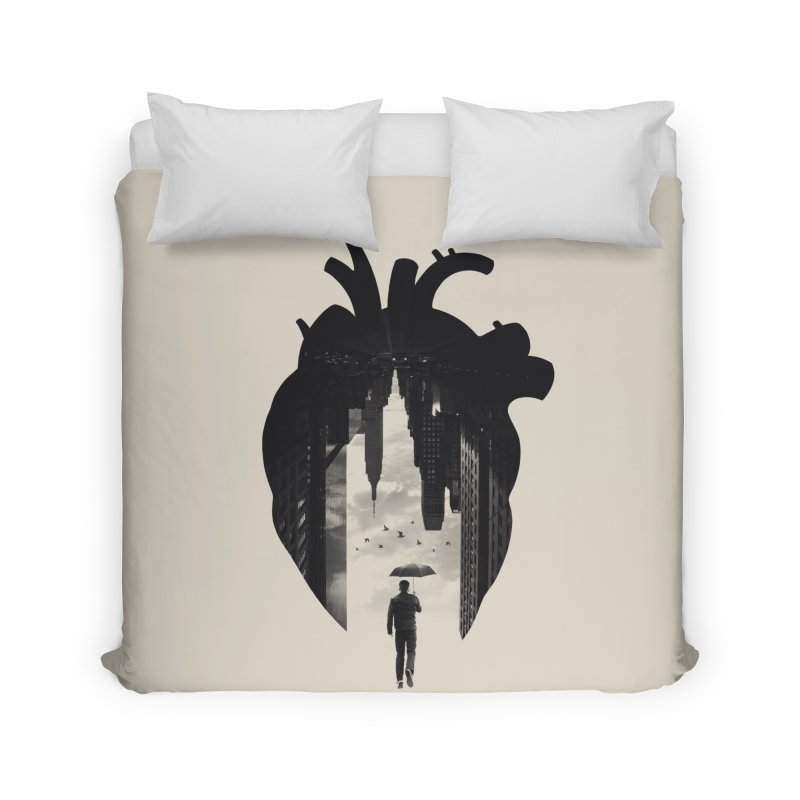 In the heart of the City Home Duvet by Buko