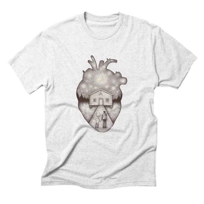 Finally Home Men's Triblend T-shirt by Buko