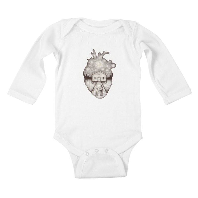 Finally Home Kids Baby Longsleeve Bodysuit by Buko