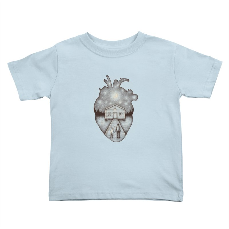 Finally Home Kids Toddler T-Shirt by Buko