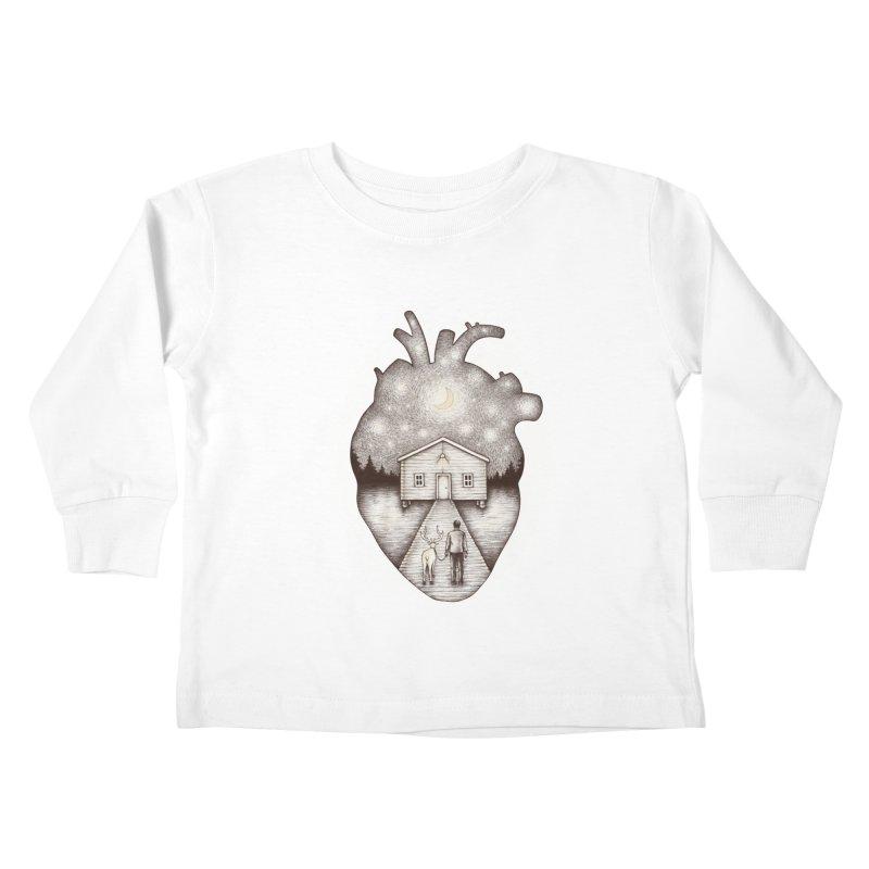 Finally Home Kids Toddler Longsleeve T-Shirt by Buko