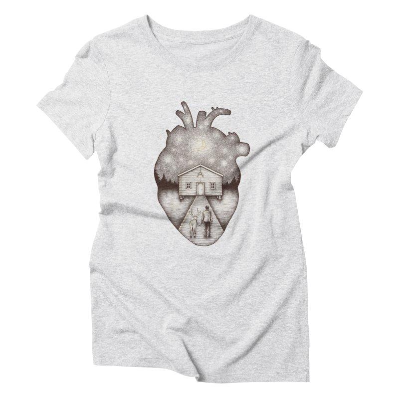 Finally Home Women's Triblend T-shirt by Buko