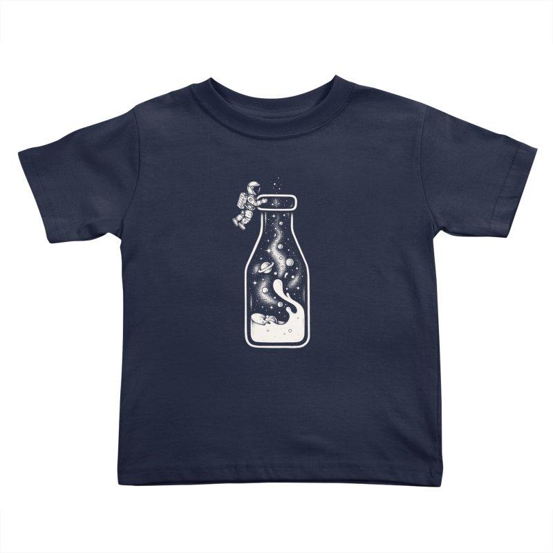 Milky Way Kids Toddler T-Shirt by Buko