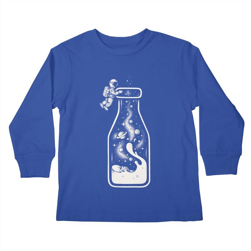 Milky Way Kids Longsleeve T-Shirt by Buko