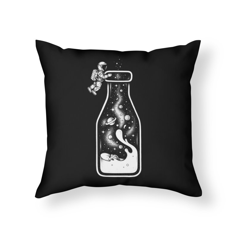 Milky Way Home Throw Pillow by Buko