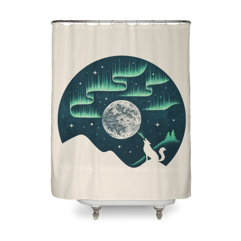 Arctic Tune Home Shower Curtain by Buko