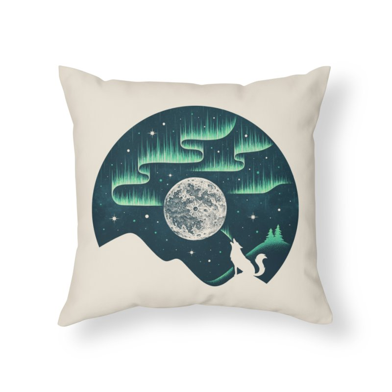 Arctic Tune Home Throw Pillow by Buko