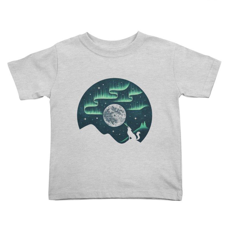 Arctic Tune Kids Toddler T-Shirt by Buko