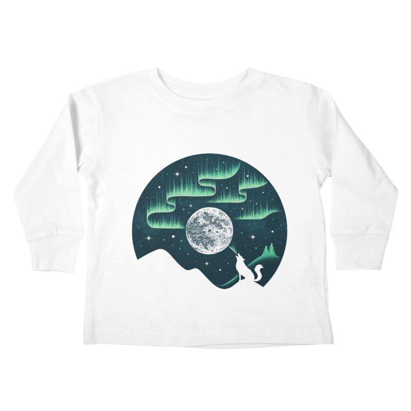 Arctic Tune Kids Toddler Longsleeve T-Shirt by Buko