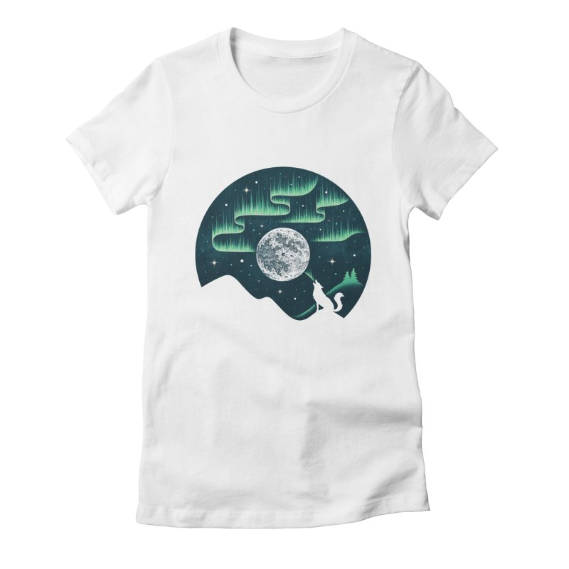 Arctic Tune Women's Fitted T-Shirt by Buko
