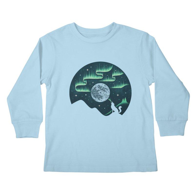 Arctic Tune Kids Longsleeve T-Shirt by Buko