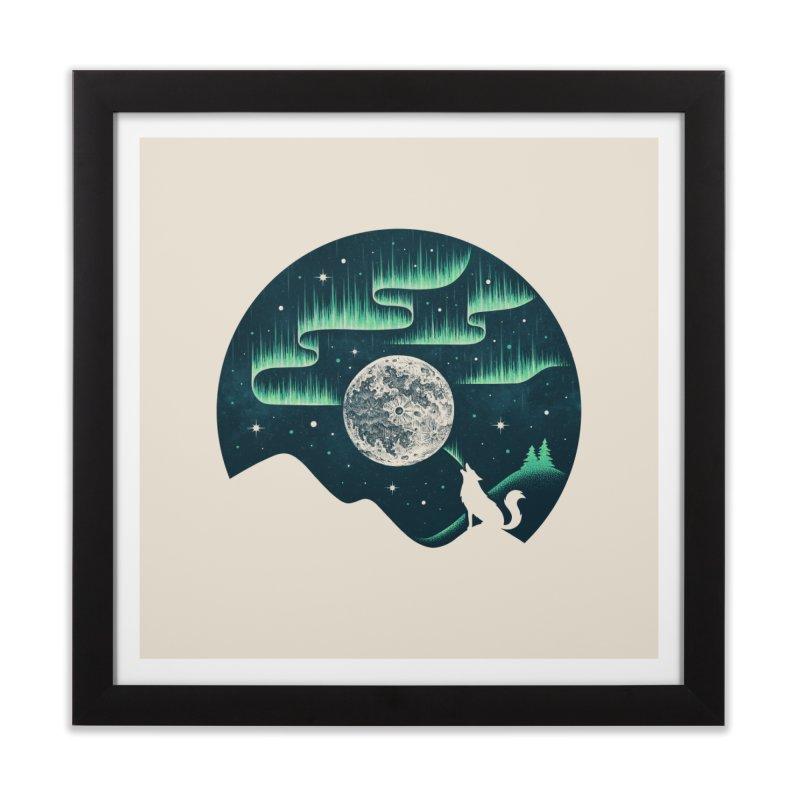 Arctic Tune Home Framed Fine Art Print by Buko
