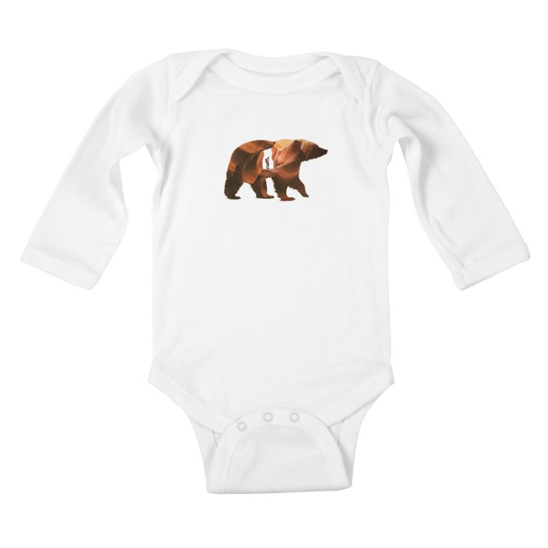 One with Nature Kids Baby Longsleeve Bodysuit by Buko