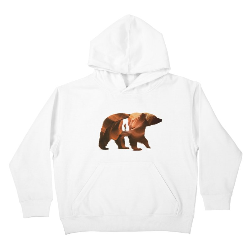 One with Nature Kids Pullover Hoody by Buko