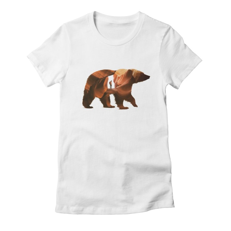 One with Nature Women's Fitted T-Shirt by Buko