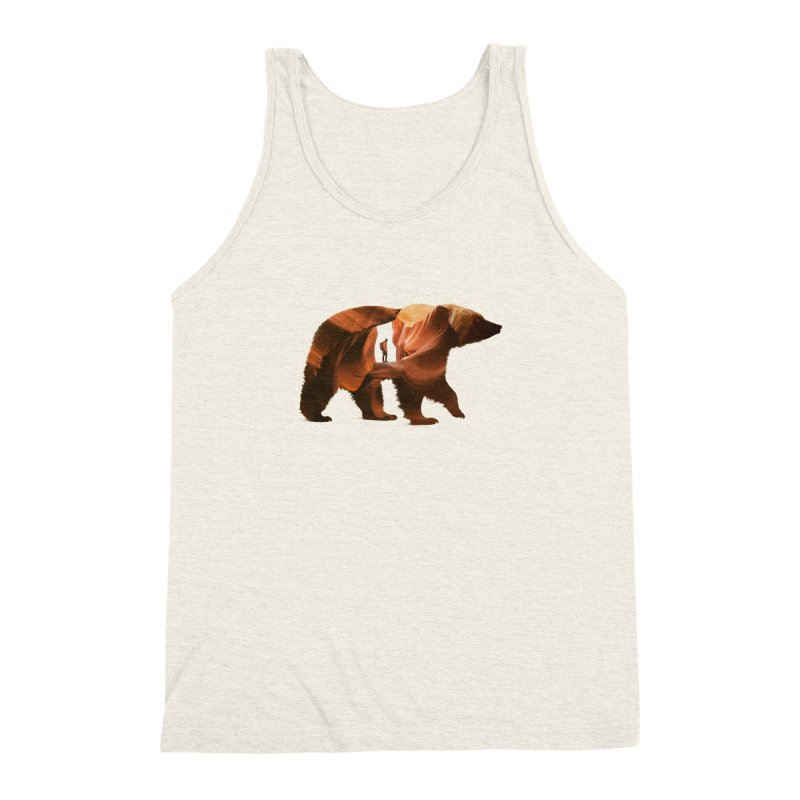 One with Nature Men's Triblend Tank by Buko
