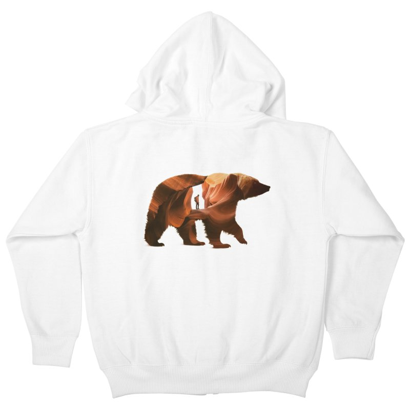 One with Nature Kids Zip-Up Hoody by Buko