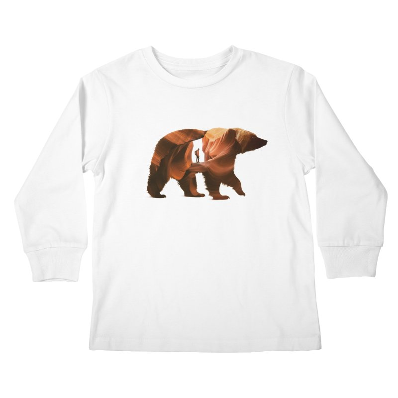 One with Nature Kids Longsleeve T-Shirt by Buko