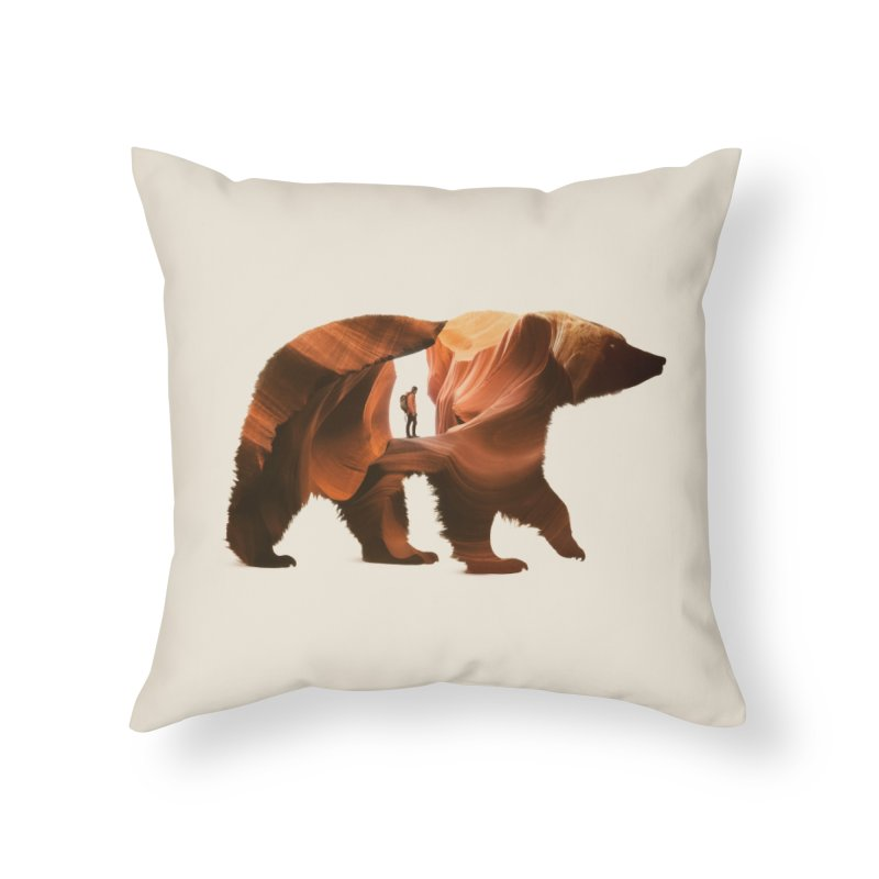 One with Nature Home Throw Pillow by Buko