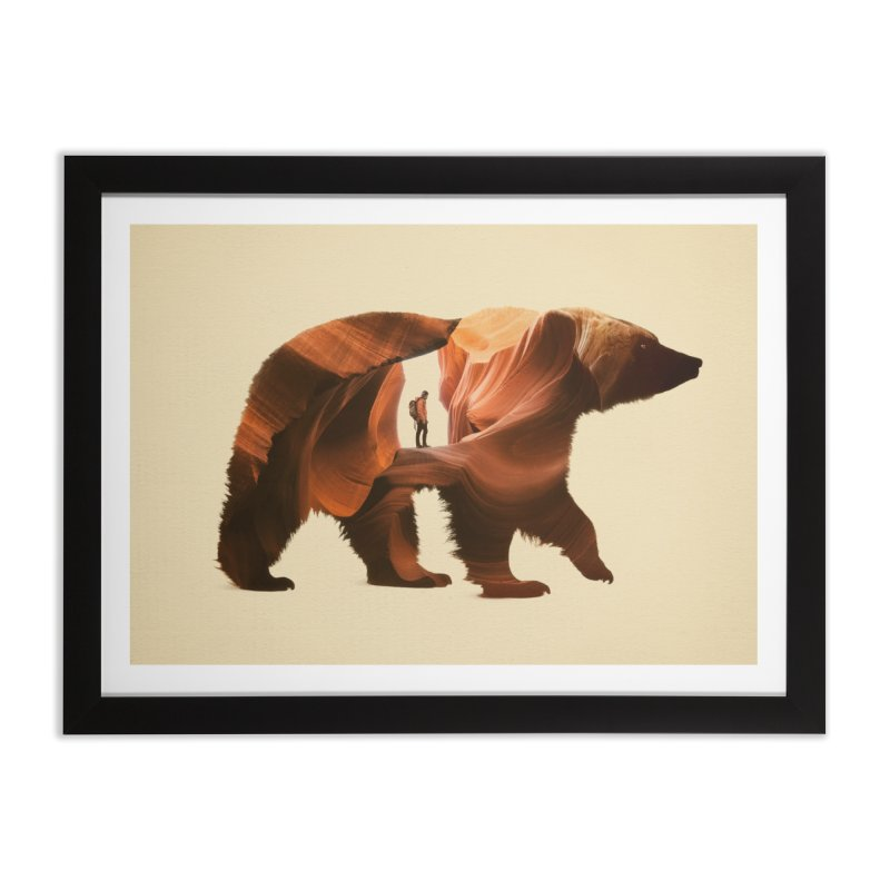 One with Nature Home Framed Fine Art Print by Buko