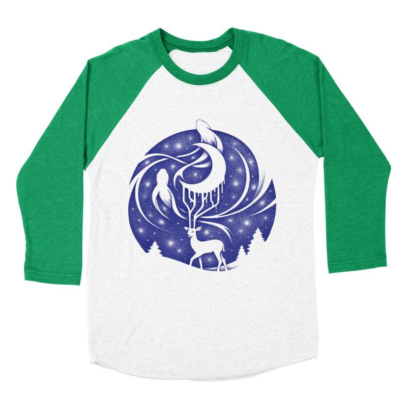 Spirits of the Night Women's Baseball Triblend T-Shirt by Buko