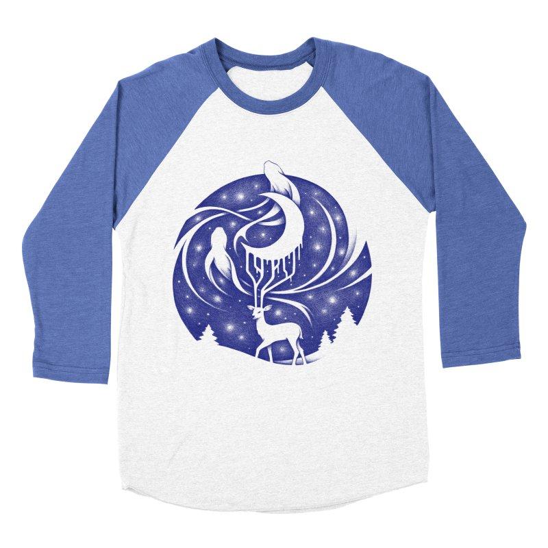 Spirits of the Night Men's Baseball Triblend T-Shirt by Buko