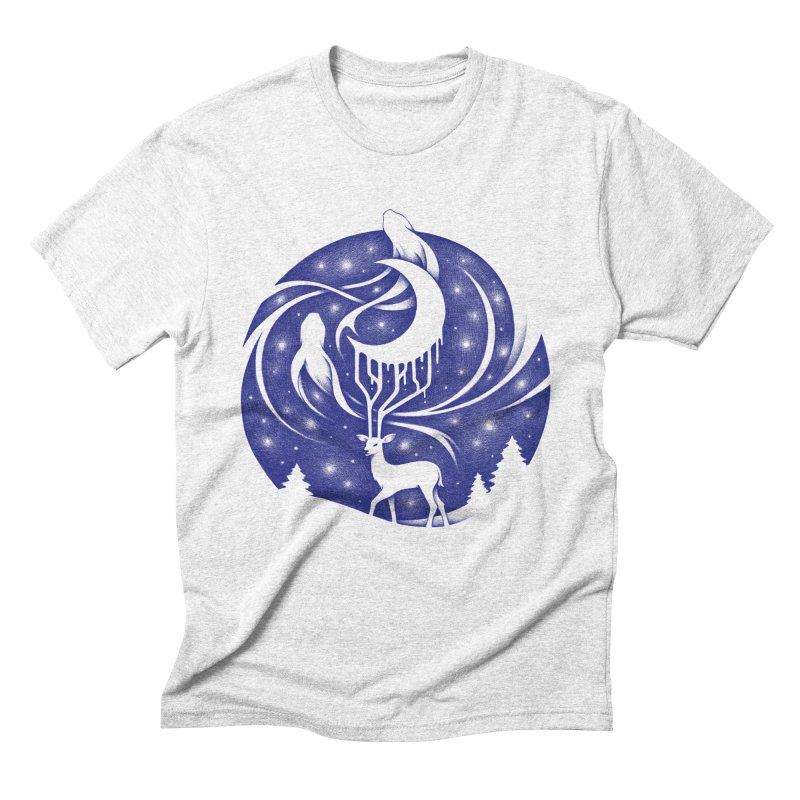 Spirits of the Night Men's Triblend T-shirt by Buko