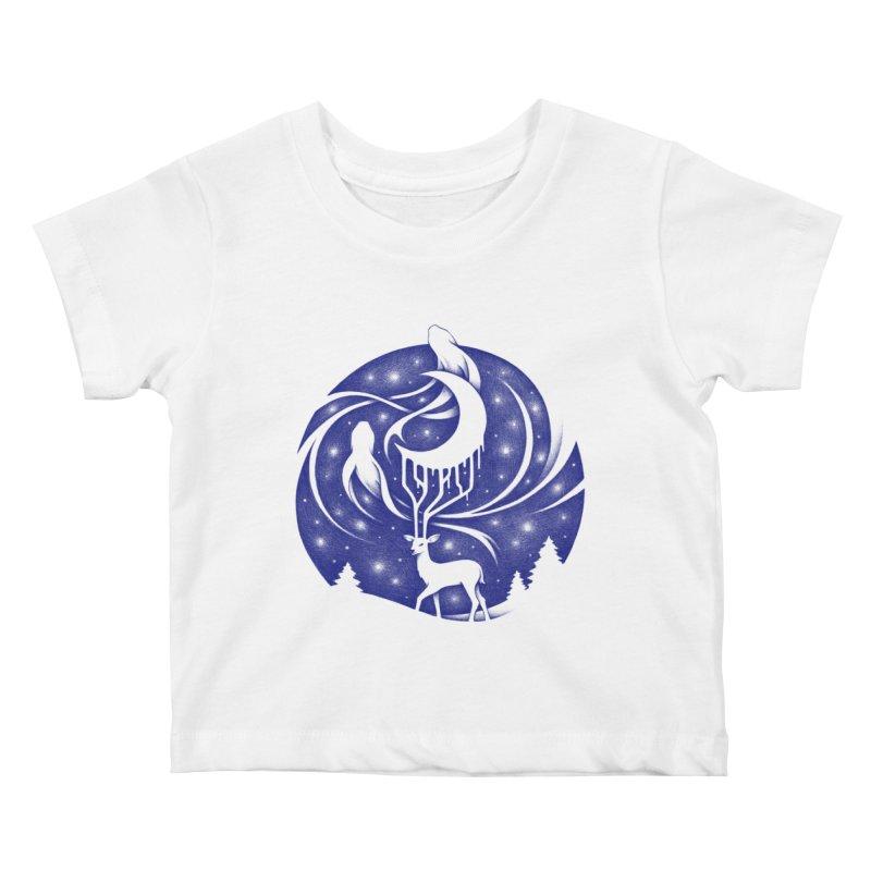 Spirits of the Night Kids Baby T-Shirt by Buko