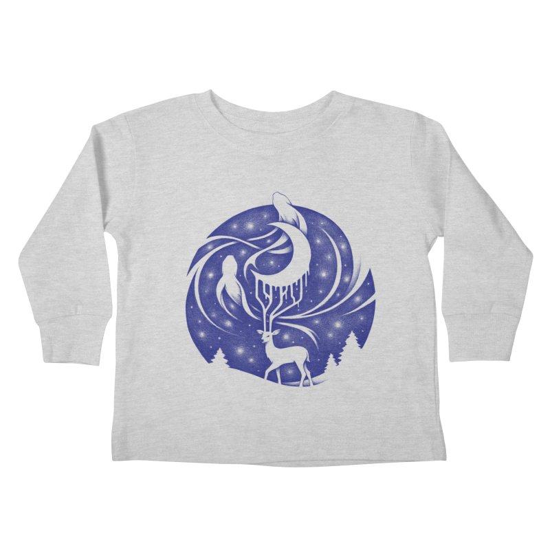 Spirits of the Night Kids Toddler Longsleeve T-Shirt by Buko