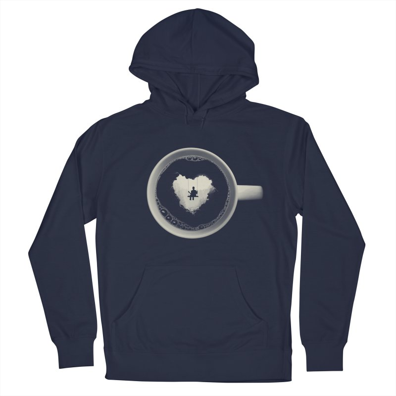 Coffee Break Men's Pullover Hoody by Buko