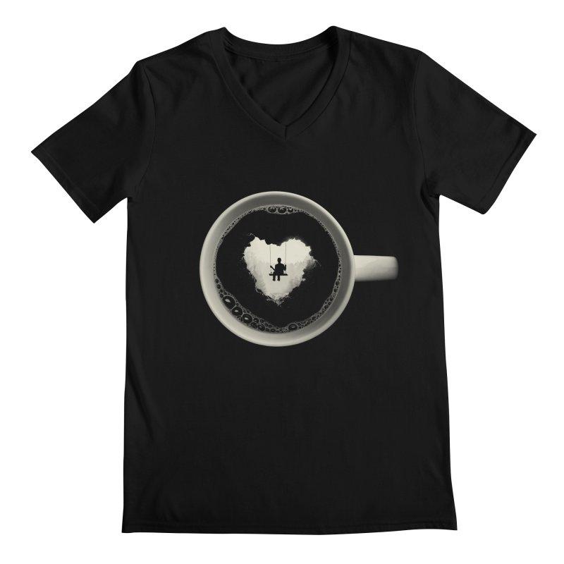 Coffee Break Men's V-Neck by Buko