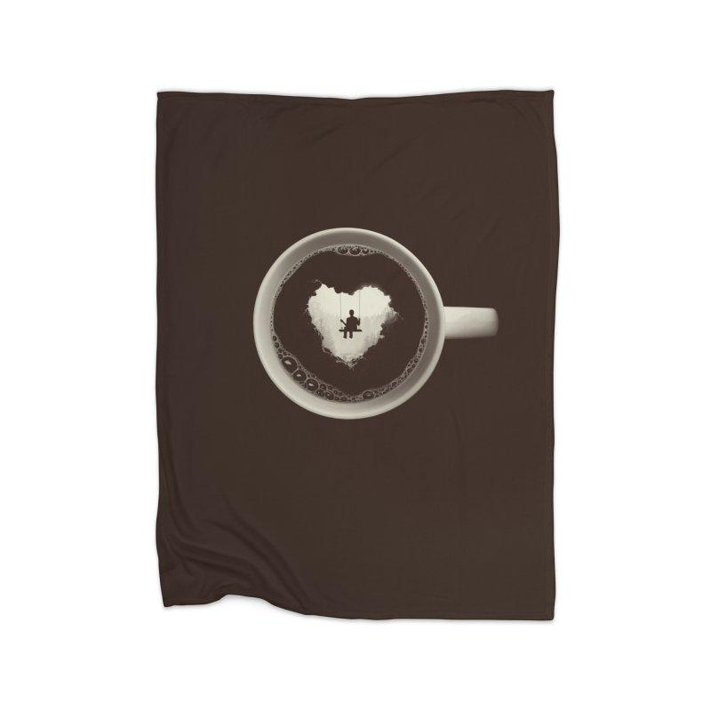Coffee Break Home Blanket by Buko