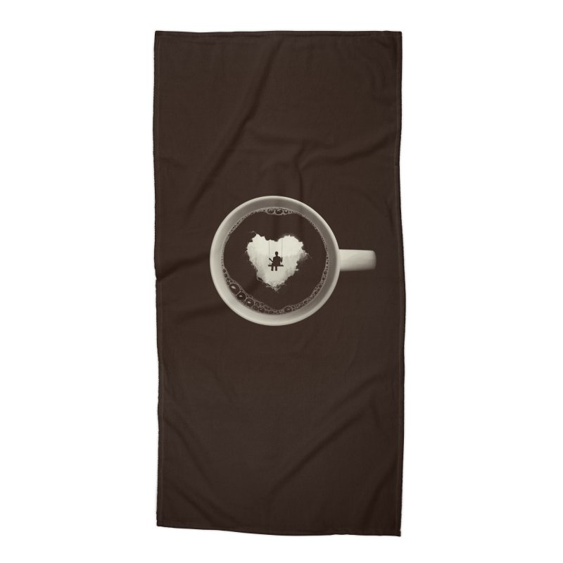 Coffee Break Accessories Beach Towel by Buko