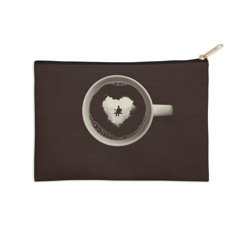 Coffee Break Accessories Zip Pouch by Buko