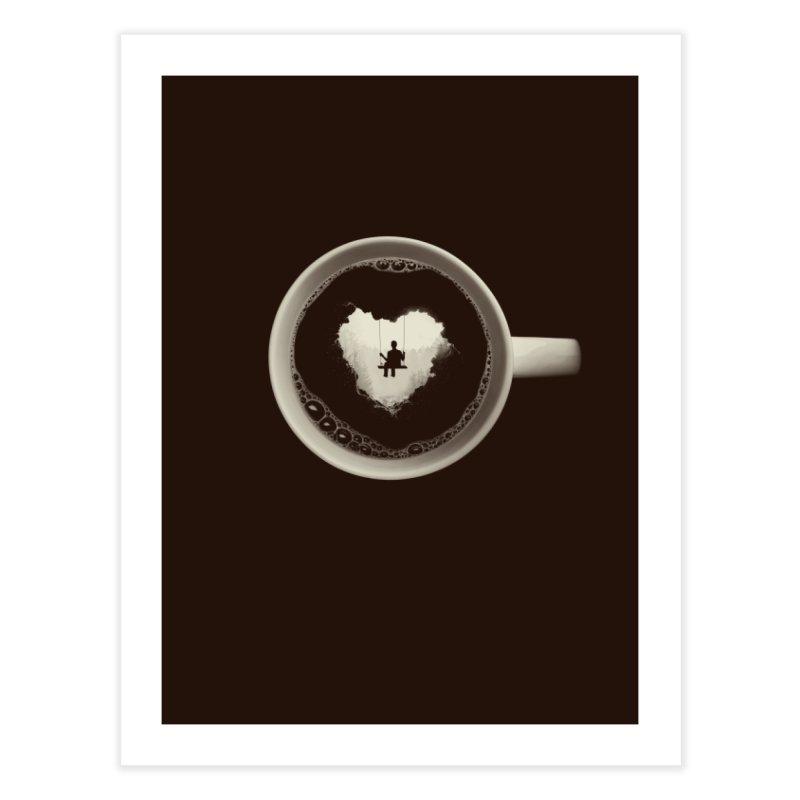 Coffee Break Home Fine Art Print by Buko