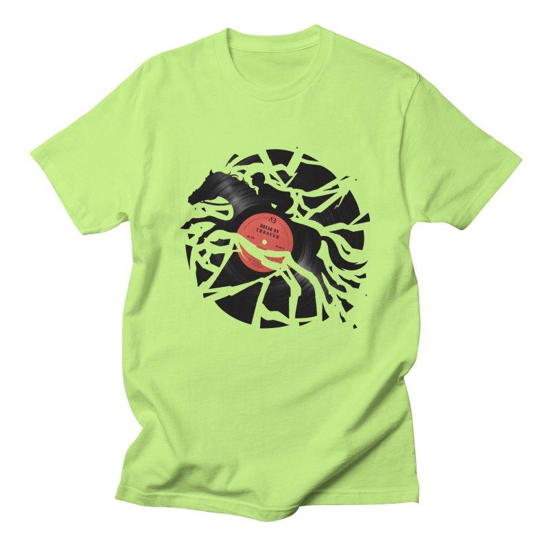 Disc Jockey Women's Unisex T-Shirt by Buko
