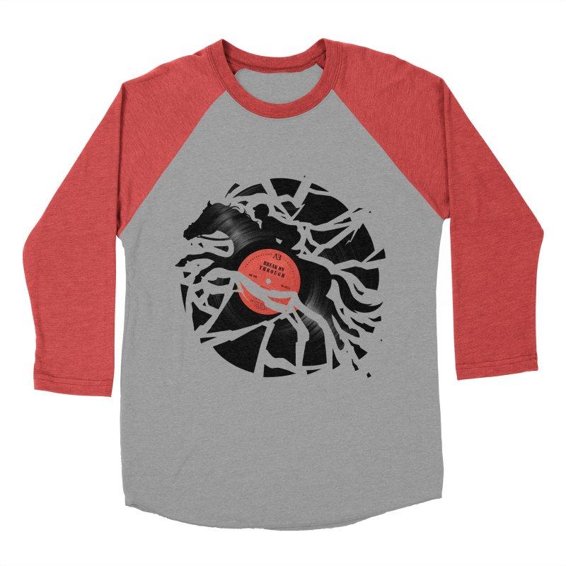Disc Jockey Women's Baseball Triblend T-Shirt by Buko