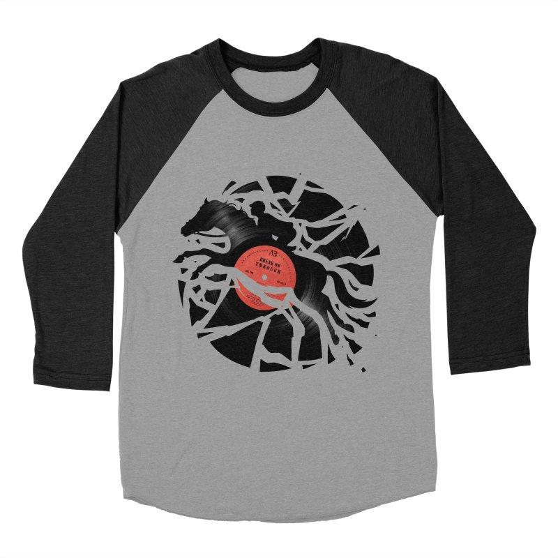 Disc Jockey Men's Baseball Triblend T-Shirt by Buko