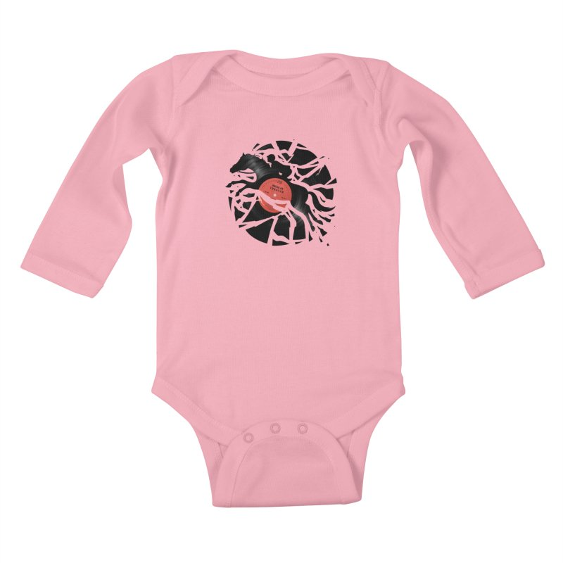 Disc Jockey Kids Baby Longsleeve Bodysuit by Buko
