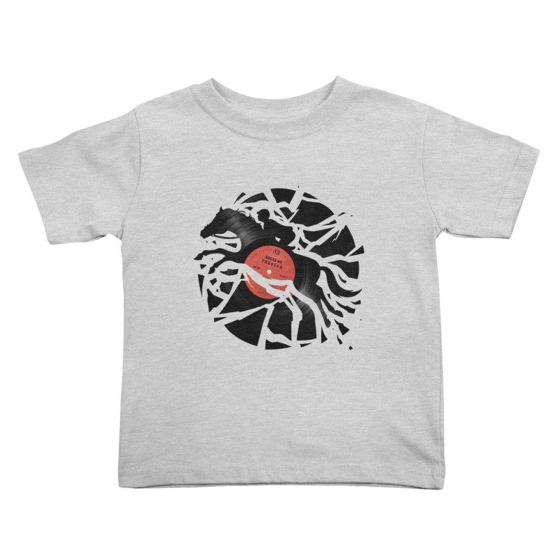 Disc Jockey Kids Toddler T-Shirt by Buko