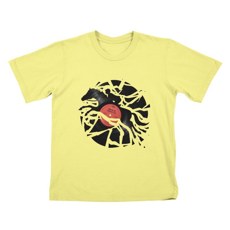 Disc Jockey Kids T-shirt by Buko
