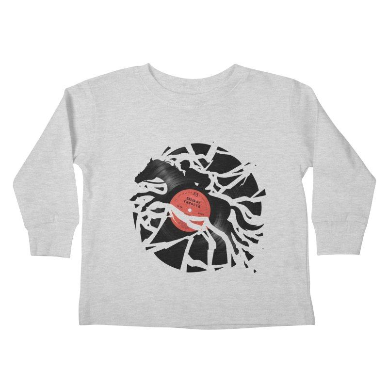 Disc Jockey Kids Toddler Longsleeve T-Shirt by Buko