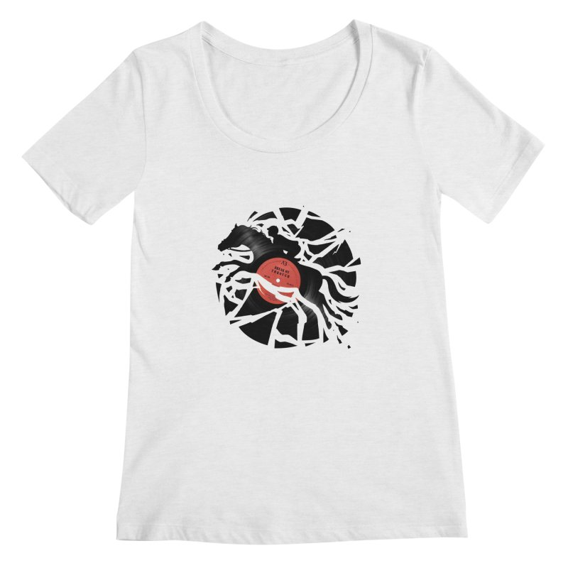 Disc Jockey Women's Scoopneck by Buko