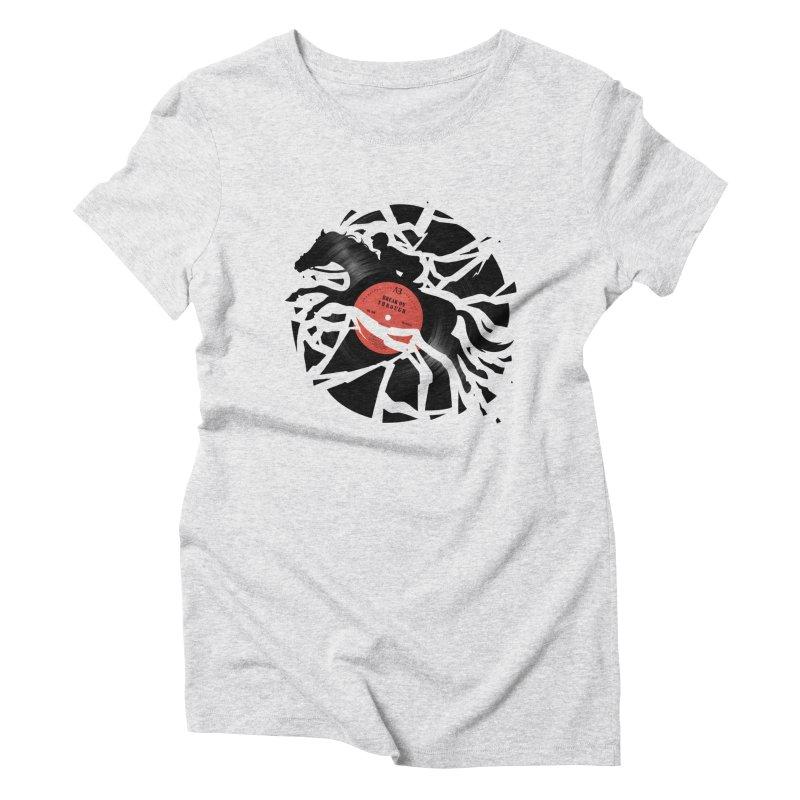 Disc Jockey Women's Triblend T-shirt by Buko
