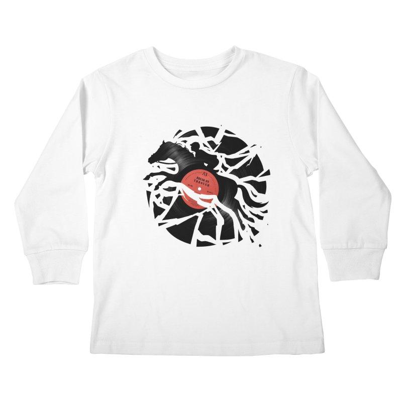 Disc Jockey Kids Longsleeve T-Shirt by Buko