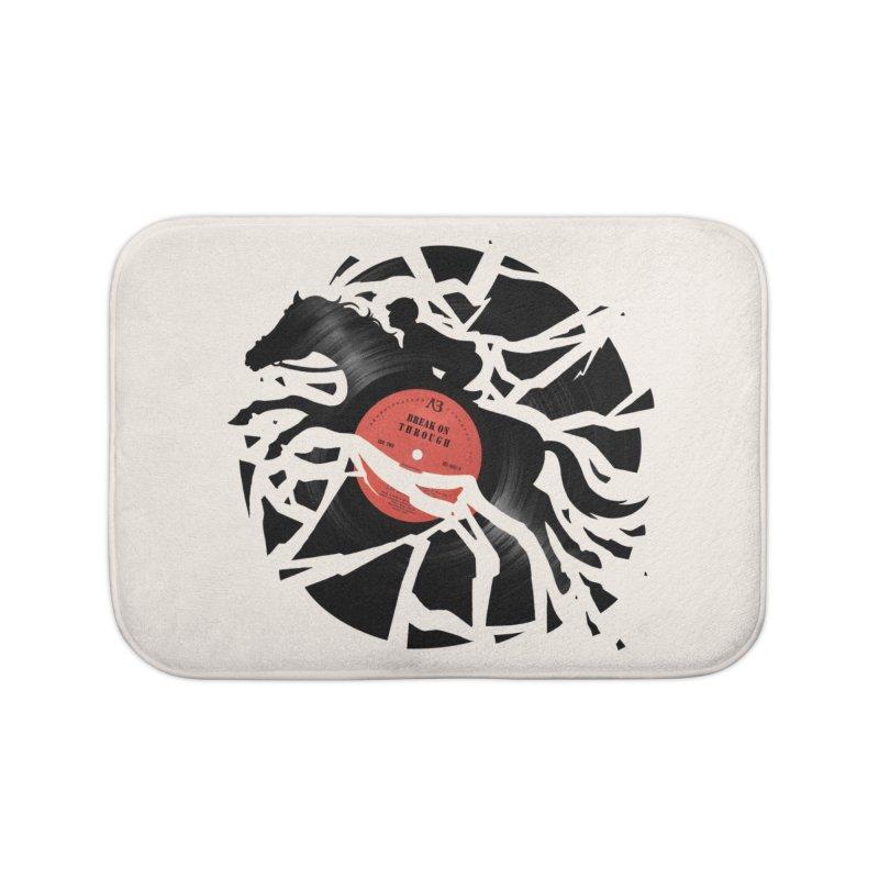 Disc Jockey Home Bath Mat by Buko