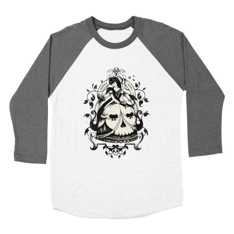Mrs. Death Men's Baseball Triblend T-Shirt by Buko